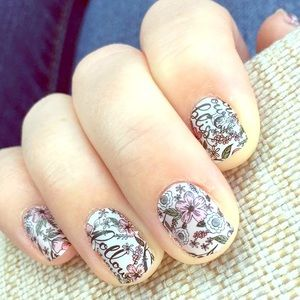 Jamberry Nail Wraps: 1'fu sheet Follow Your Bliss